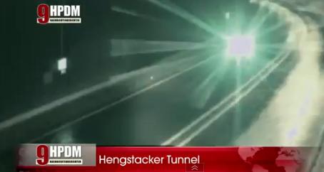 В Германии НЛО столкнулось с фурой